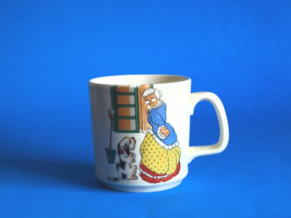 Johnson of Australia Old Mother Hubbard Mug  Vintage by FunkyKoala