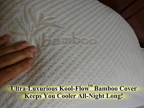 Snuggle Pedic Ultra Luxury Bamboo Combination Shredded Memory Foam