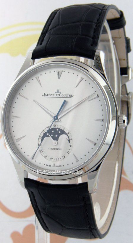 Jaeger-LeCoultre Q1368420 Master Ultra-Thin Moon 39, Steel