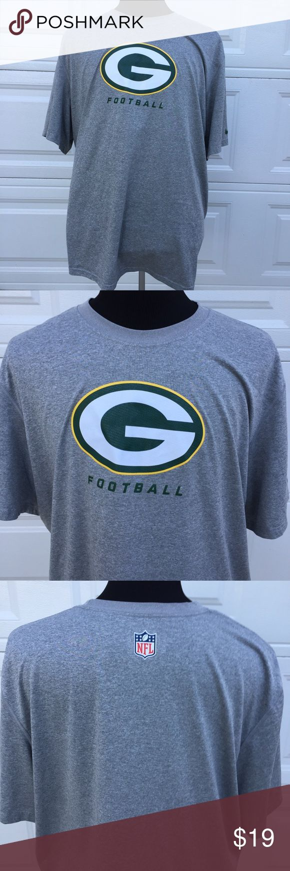 Green Bay Packers NFL Apparel Nike Dryfit 3XL You're purchasing a Green Bay Packers NFL Apparel Nike Dryfit 3XL. Gently used in very good condition. See pics for measurements. Thanks for visiting. Nike Shirts Dress Shirts