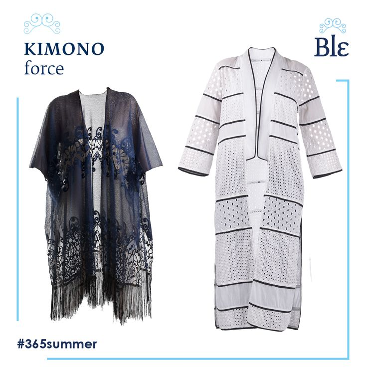 Long or short? Go for both to accomplish a carefree kimono-look during the day and a smart-chic for evening dates.  Explore the new #Ble resort collection Summer 2017 here www.ble-shop.com