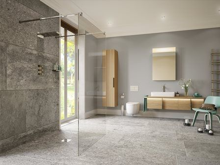 Amazing On The Level Barrier Free Wetroom Design