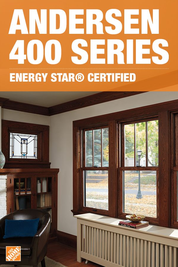 Cut energy costs in your home with ENERGY STAR® certified Andersen 400 Series Woodwright Double Hung windows. These windows are not only better insulated to keep your home at a comfortable temperature, but crafted with a classic style and authentic wood appearance. Choose from 12 finishes to perfectly match the cabinetry and decor in your home. Click to explore more Andersen Windows.