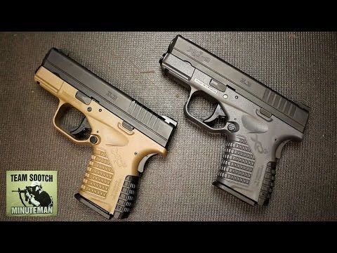Springfield Armory XDS 9mm Pistol Review