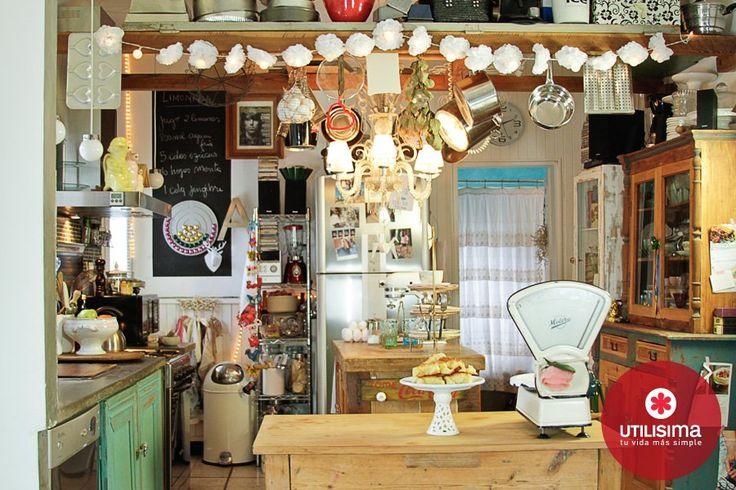 Ambientar una casa para seis personas no es una tarea - Ideas para cocinas ...