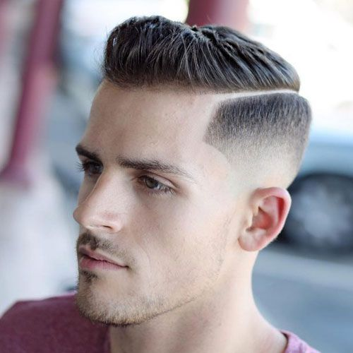 Hard Side Part + High Skin Fade