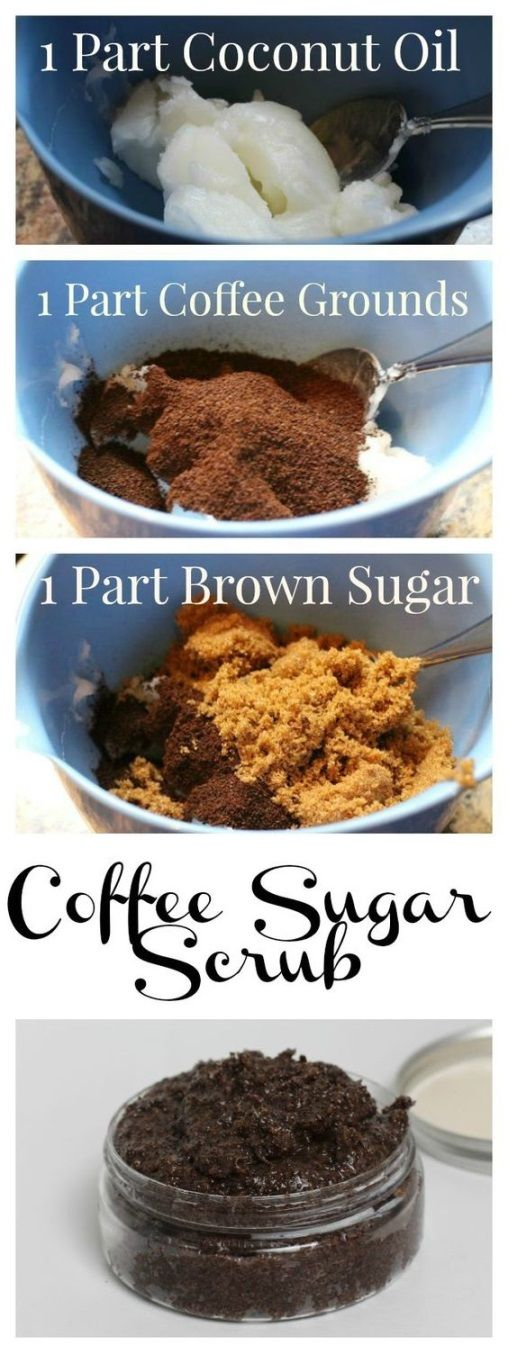 DIY Coffee Sugar Body Scrubs to Get Rid of Cellulite. It will be the best #Christmas and #Holiday gifts for your friends.
