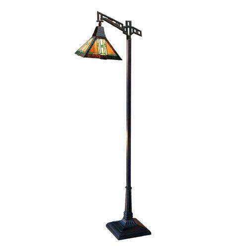 craftsman floor task lamp | Craftsman Autumn Bridge Floor Lamp