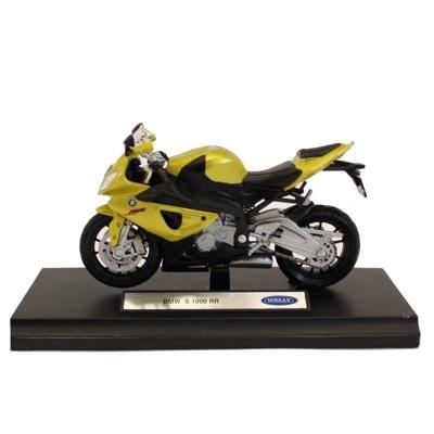 Motocicleta BMW S1000RR - 22 RON   Un cadou potrivit pentru toti pasionatii de motociclete. Macheta motocicleta motocicleta Honda Hornet, scara 1/18, este o motocicleta de colectie confectionata din metal, avand un aspect real.