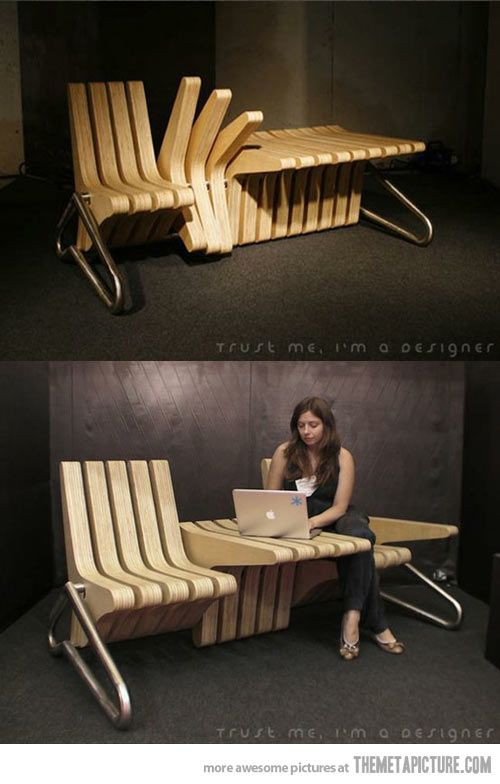 Clever piece of furniture…