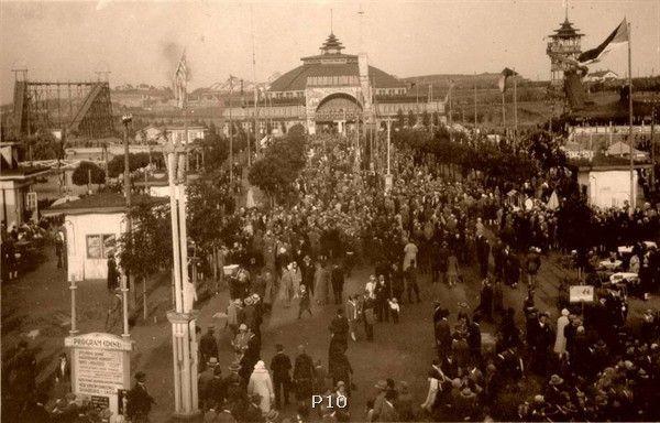 Lunapark Eden – dnes ani památky