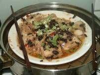 Gestoomde Chinese Witte Vis Met Zwarte Bonen recept | Smulweb.nl