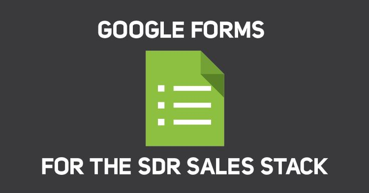 Krista Caldwell, leader of Sales Development at Tulip Retail shares how to implement Google Forms to add it to your SDR Sales Stack.