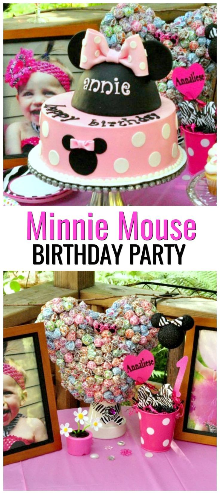 #MinnieMouseFirstBirthday How to Plan a Minnie Mouse First Birthday Party. Minnie Mouse First Birthday Party Favors and more Minnie Mouse First Birthday Party ideas. Minnie Mouse First Birthday Party Decorations ideas are also included in this post. #minniemousefirstbirthdaydecorations #minniemousebirthday #minniemouseparty