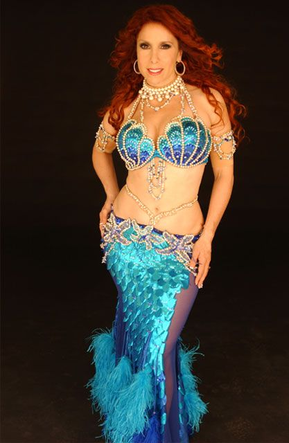 Jillina.  There are SO many mermaid costume out there . . . !  This one's particularly nice.