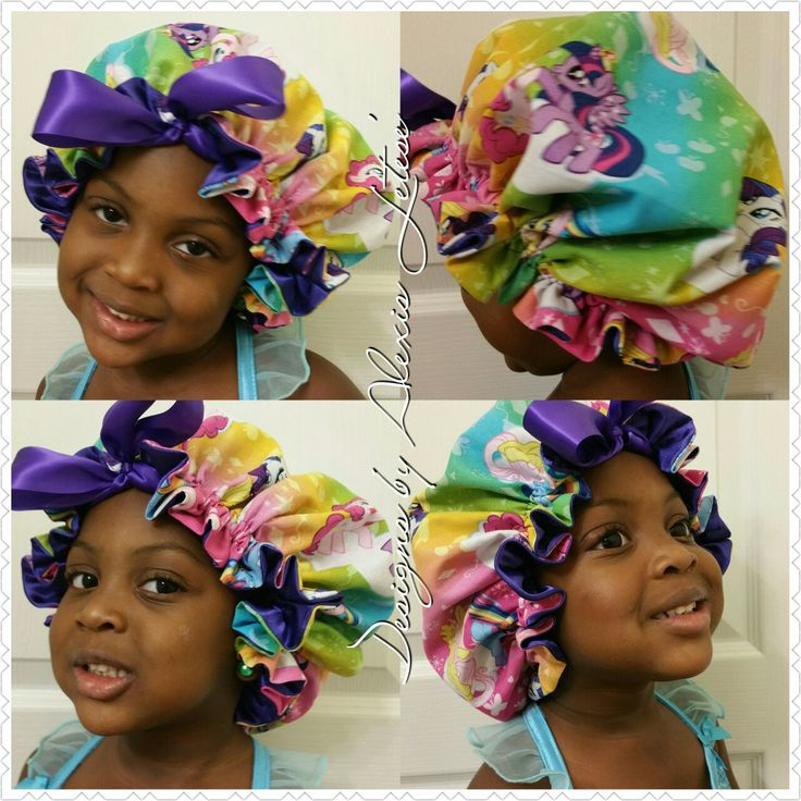 Satin hair bonnets!!! Personalize it to the character or colors that you want!!! Great Christmas gift!!!