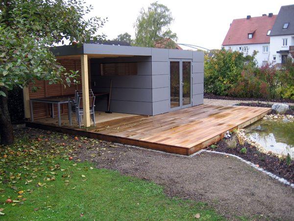 MAX Holzwerk Gartenhaus
