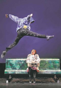 """A preview of I on the Sky by the Winnipeg Free Press. """"It's about exile, about people who have to move from their home country to another,"""" says [Yves] Simard, whose company has presented other shows at MTYP, including Mur-Mur and Thrice Upon a Time. """"The big message is to be open to the other. It's about inclusiveness."""""""