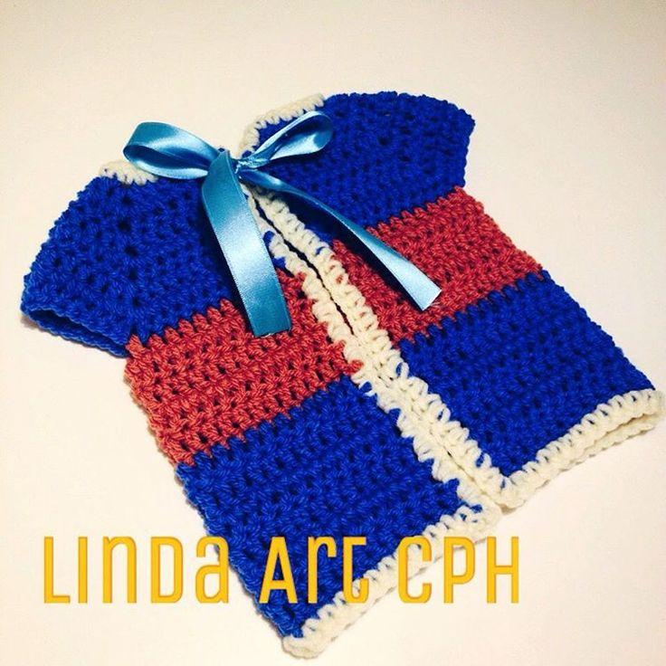 #baby #crochet #vest #dress #cloth #garn #yarn #københavn #copenhagen #design #designer
