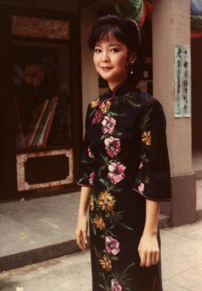 Teresa Teng in Qipao