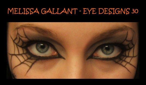 DIY Halloween Makeup : Eye Designs