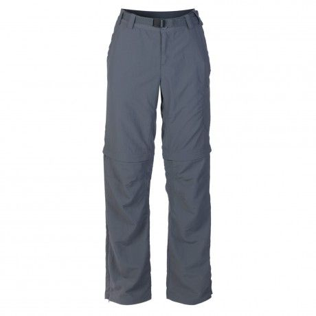 K-Way's Ederle ladies' explorer trousers are made from 100% nylon full dull dobby with a UV protective finish (UVPF 40+). A mesh-lined waistband helps keep you cool and dry, while engineered leg articulation (at the knee point) ensures comfort and freedom of movement. The legs can also be zipped off, converting the trousers into shorts.