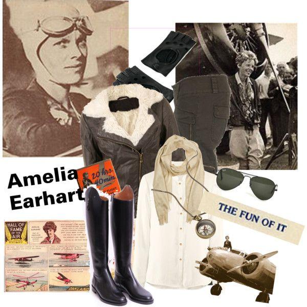 Amelia Earhart                                                       …