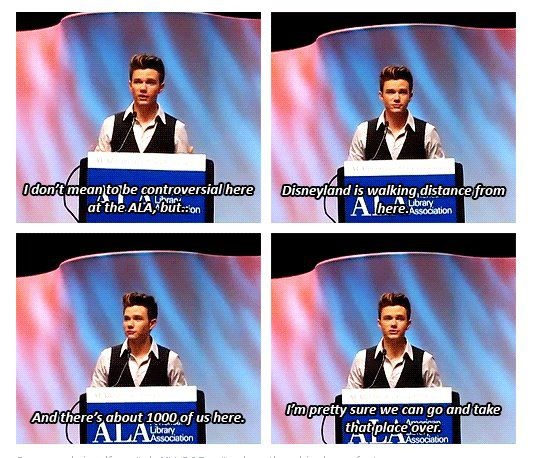 Haha. How do people not love him?