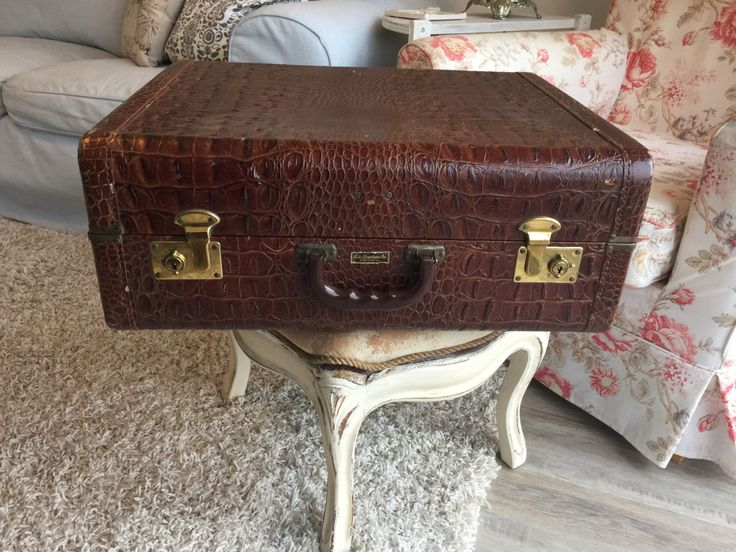 A personal favorite from my Etsy shop https://www.etsy.com/ca/listing/474418596/vintage-alligator-suitcase-luggage