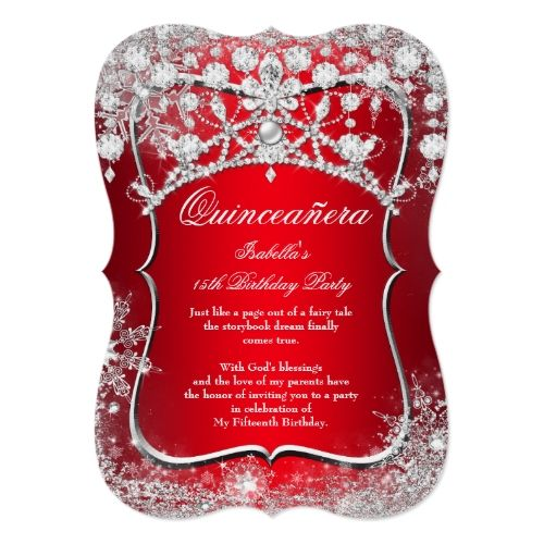 100 best Quinceanera Invitations images on Pinterest Quinceanera