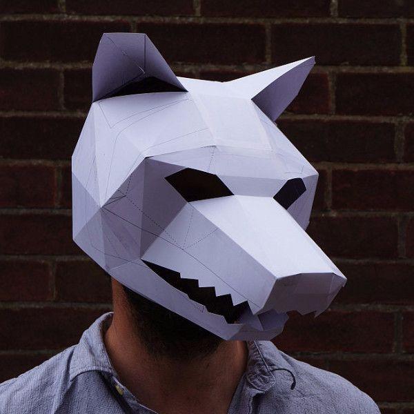 Diy Cardboard Masks: The 25+ Best Animal Mask Templates Ideas On Pinterest