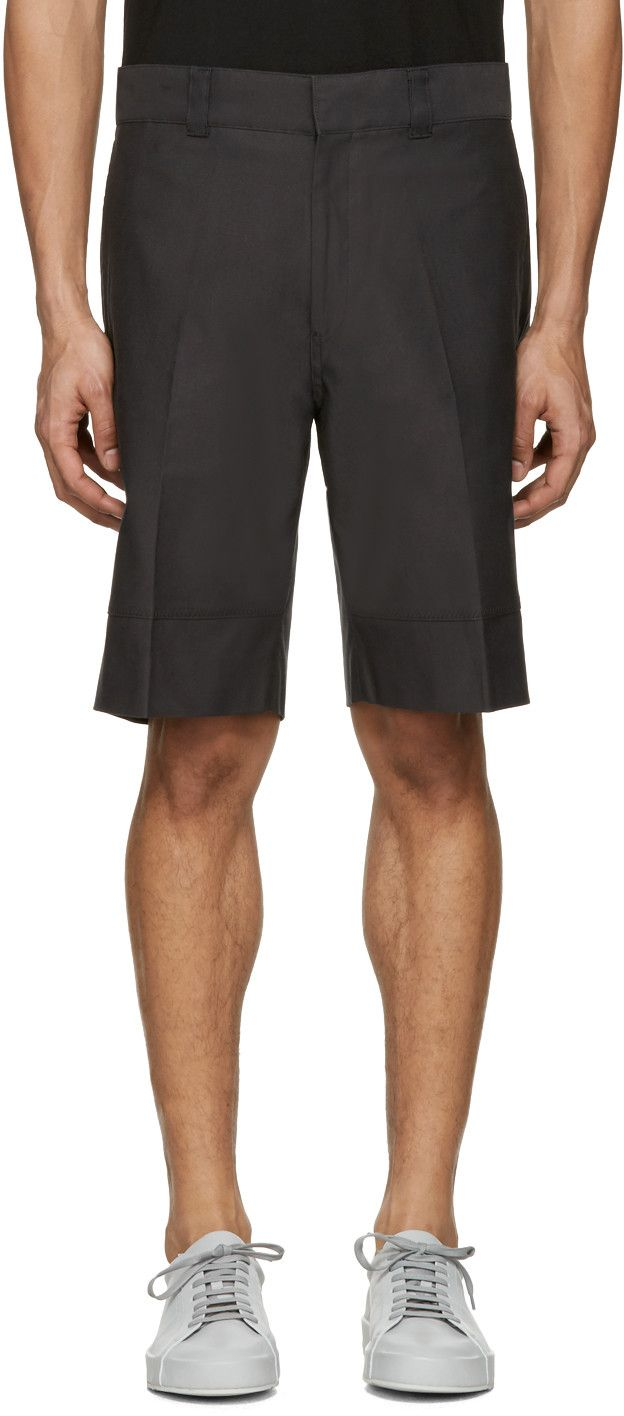 CHILDS Black Beam Baggy Shorts. #childs #cloth #shorts