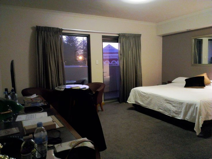 Esplanade Hotel, Fremantle. Great spot, hotel average. May be better once renovations are complete.