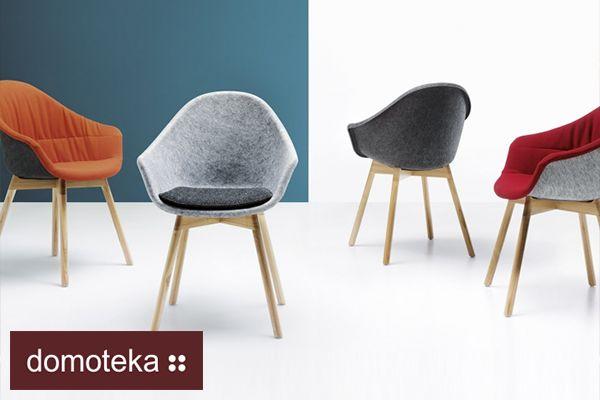 W salonie Meble NOTI znajdziecie teraz foteliki Mamu projektu Tomka Rygalika. Inspirowane przełomem technologicznym w meblarstwie, zostały wykonane z formowanego filcu. Dla dodatkowego komfortu, krzesło Mamu jest produkowane z tapicerowaną poduszką. Wyrafinowane w formie siedzisko podpierają lekkie konstrukcje drewniane.