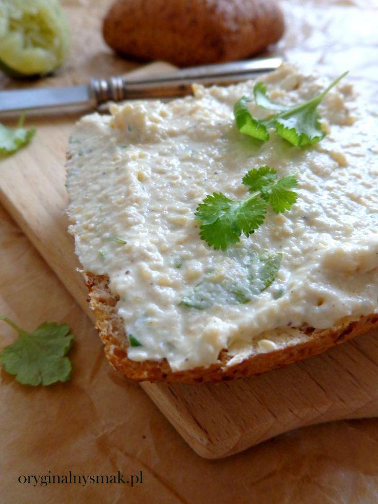Pasta z ciecierzycy i twarogu  | Oryginalny smak