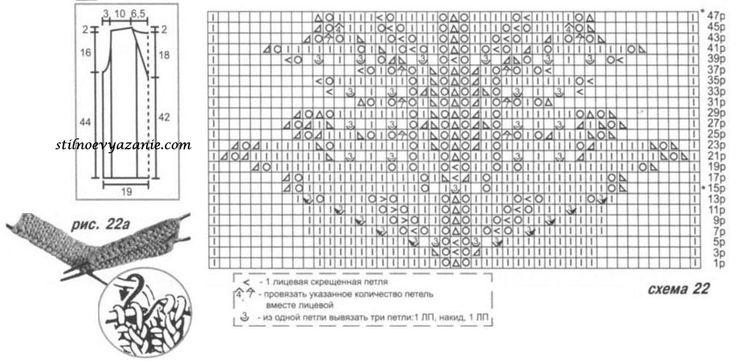 Коралловый топ,связанный спицами / Стильное вязание