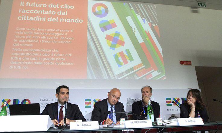 Expo Milano 2015 – 'Cibo di oggi, cibo di domani'. Presentata la ricerca Coop curata da Doxa che mette a confronto i cittadini di 8 Paesi del mondo