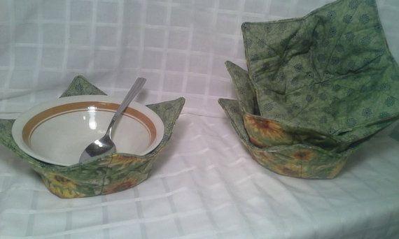 Microwave bowl cozy pot holder by jennifersgemz on etsy 6 99