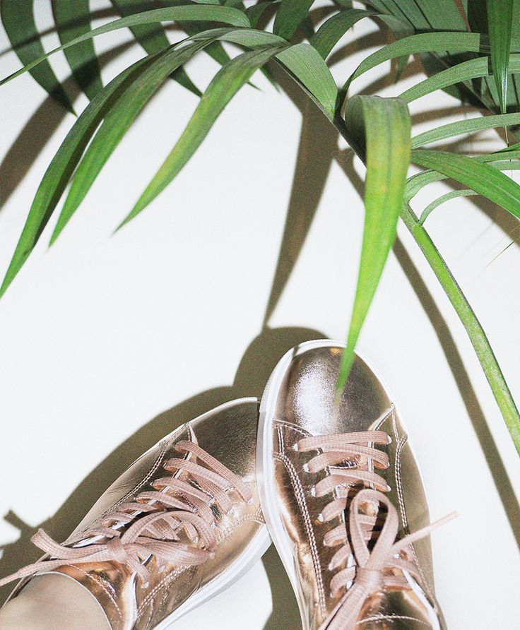 Department of Finery - LUXE ROSE GOLD Sneaker