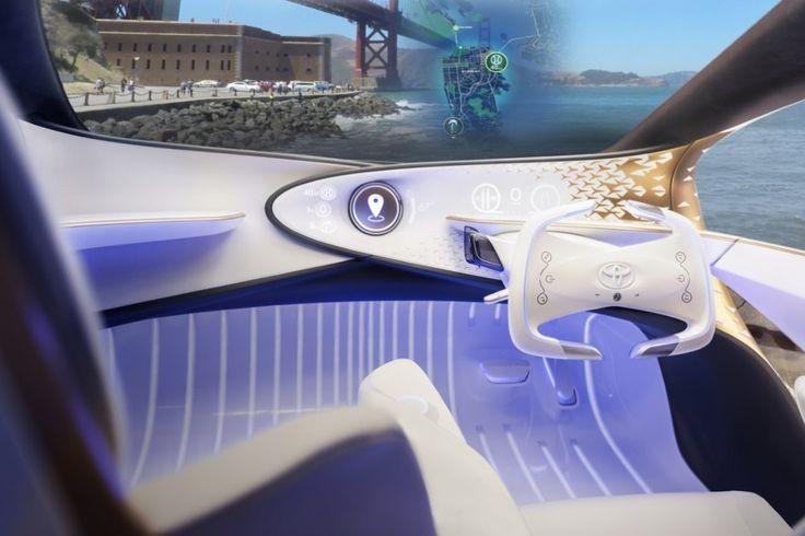 CES 2017. Le Concept-i de Toyota met en avant son intelligence - Photo #9 - L'argus