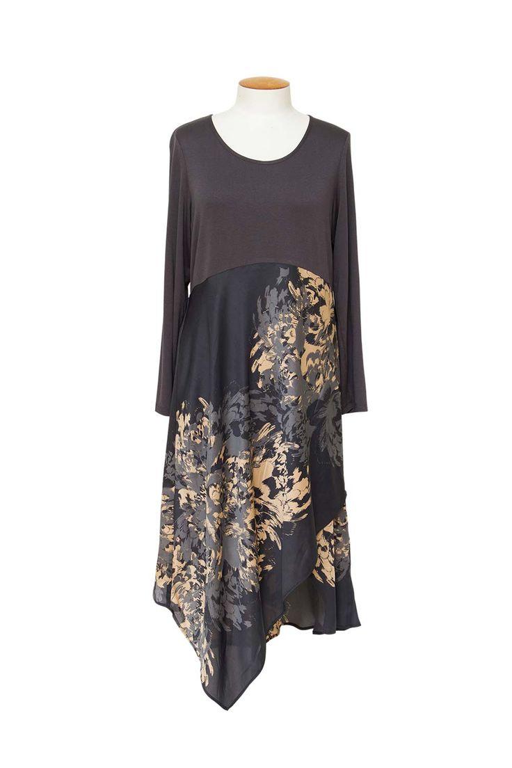 Magazine Designer Clothing - Obi Brushstroke Dress