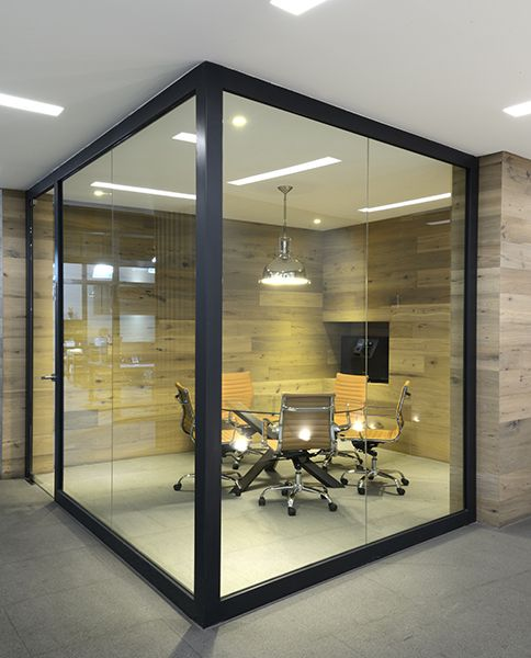 Office Design Company: Best 25+ Glass Partition Ideas On Pinterest