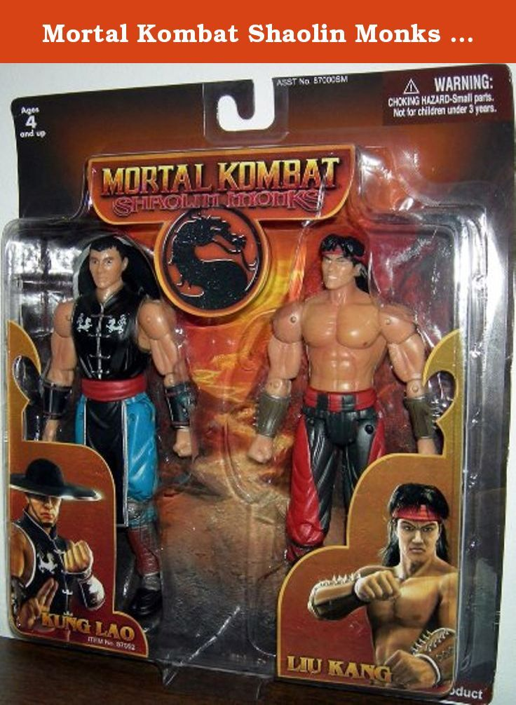 Mortal Kombat Shaolin Monks Kung Lao & Liu Kang Figures by Jazwares. The Mortal Kombat Shaolin Monks action figures are actually rare, collector's items. The Liu Kang and Kung Lao figures are based on the popular Mortal Kombat series of the same name. Due to the popularity of the game and characters, these action figures together is already worth money RIGHT NOW since there was only a small amount sold when the game launched. A must have for serious collectors and die hard fans of the…