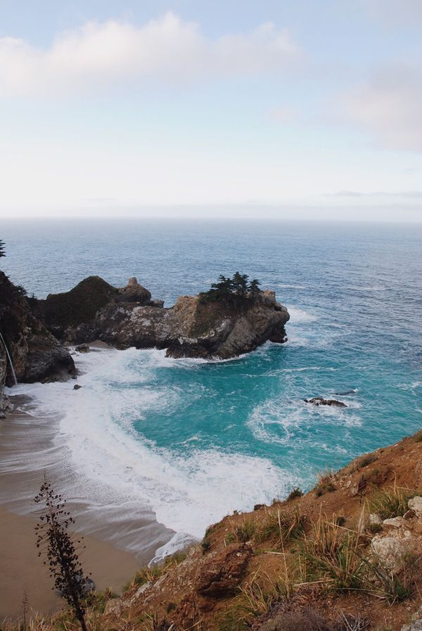 Early morning light at McWay Falls.