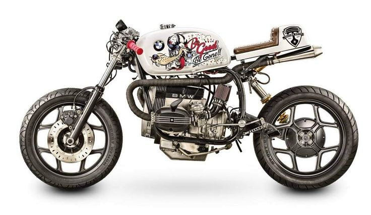 "BMW R80 Cafe Fighter ""Be Good or Be Gone"" by Tattoo Moto"