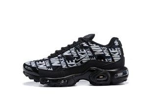 Mens Winter Nike Air Max TN Plus Se Running Shoes Black white NIKE-ND010153