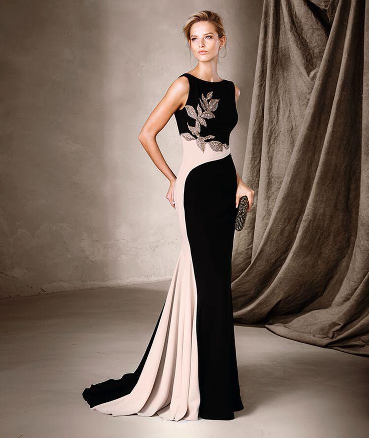Combinación elegante del blanco y el negro