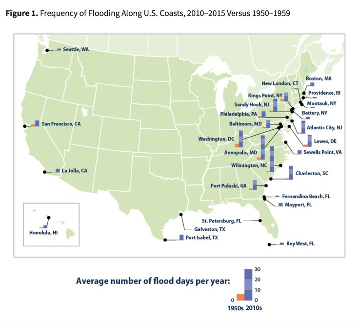 Best Data Visualization For Oceanic Climate Change Images On - Time change map us