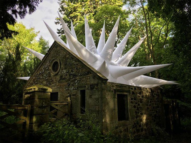 XXX is de naam van een drietal installaties die Steve Messam heeft geplaatst in het landschap rondom de Mellerstain House in Schotland.