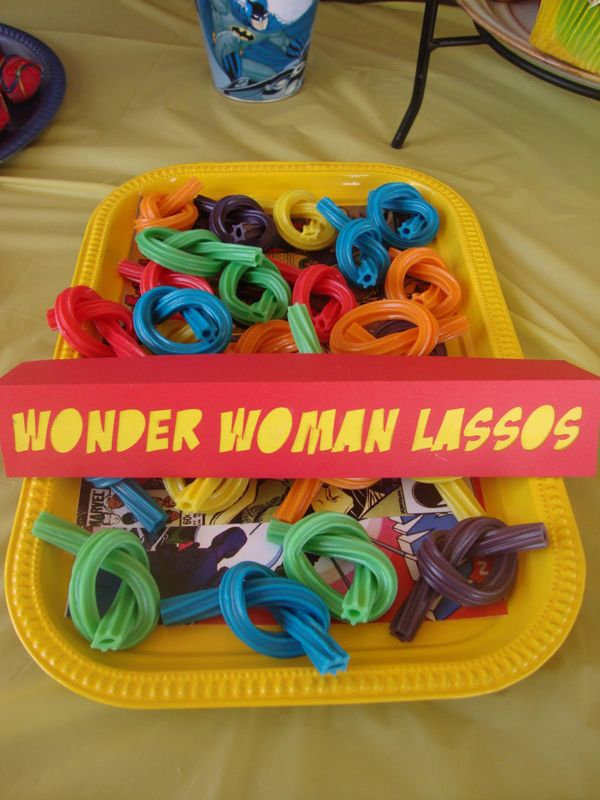 Wonder Woman Lassos | Wonder Woman Party Ideas